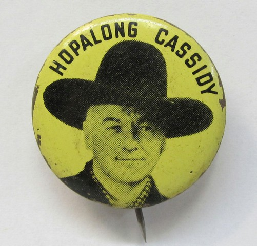 aede645d74fbe HOPALONG CASSIDY. photo on yellow. 1.25