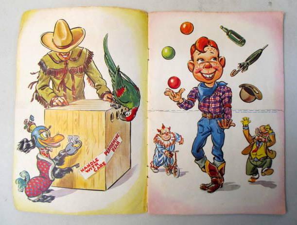Book Premium HOWDY DOODYS POLL PARROT JUMBLE JOY BOOK 1955