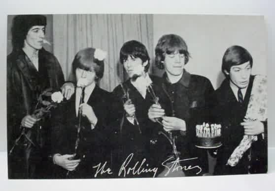 vintage collectible ROCK ROLL music memorabilia for sale from – Rolling Stones Birthday Card