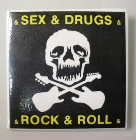"Joe Jackson Band British Union Jack Flag 1.25"" Pinback Button"