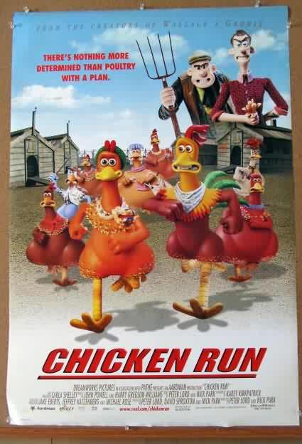 chicken run movie essay