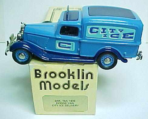 Brooklin White Metal Diecast 1 43 Collector Cars And Trucks For