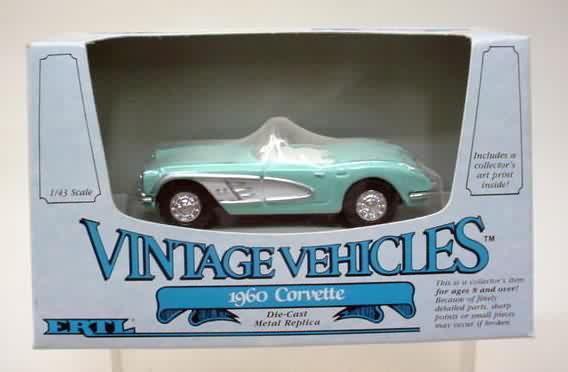 2588. 1960 CORVETTE. Light Turquoise ...