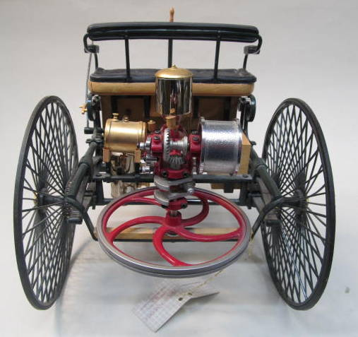 The World S First Automobile The Benz Patent Motorwagen: Vintage Collectible FRANKLIN MINT Diecast For Sale From