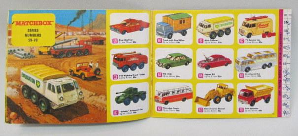 Matchbox 1987 A5 gran catálogo alemán