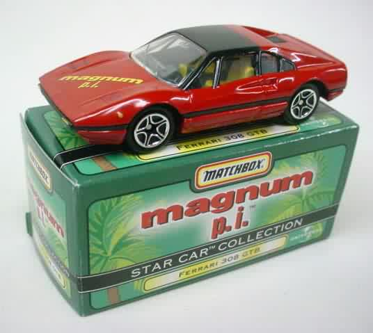 magnum pi ferrari 308 GTR toy collectible | Antique Toys | Pinterest