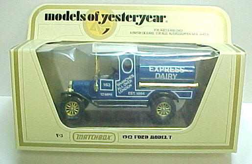 Matchbox Models Of Yesteryear Diecast For Sale From Gasoline Alley