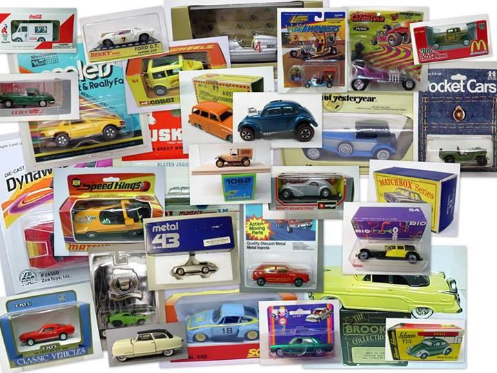 die cast vehicle old vintage collectible oop gasoline alley antiques