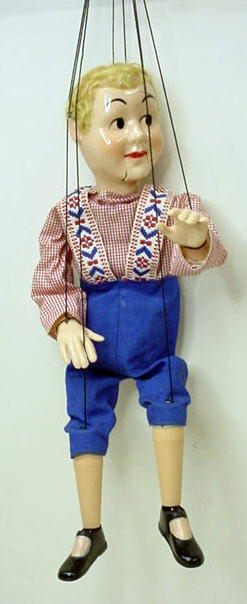 Marionette String Puppets Vintage And Collectible For Sale
