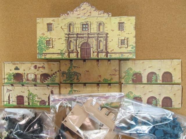 8 Total  #6 Loose Miniature Resin Village Figures