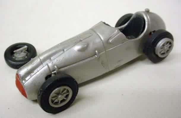 White metal scale model car kits