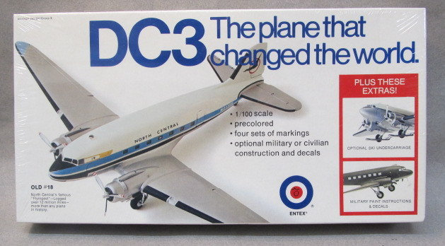 COMMERCIAL AIRLINERS vintage out of production plastic model kits