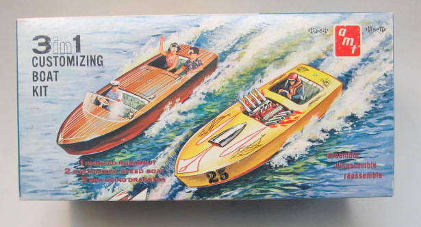 Image result for AMT Customizing Boat kit