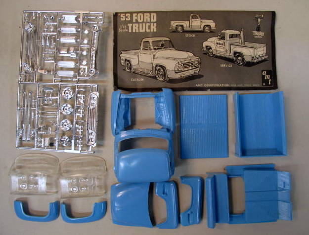 AMT CAR & TRUCK vintage out of production plastic model ...