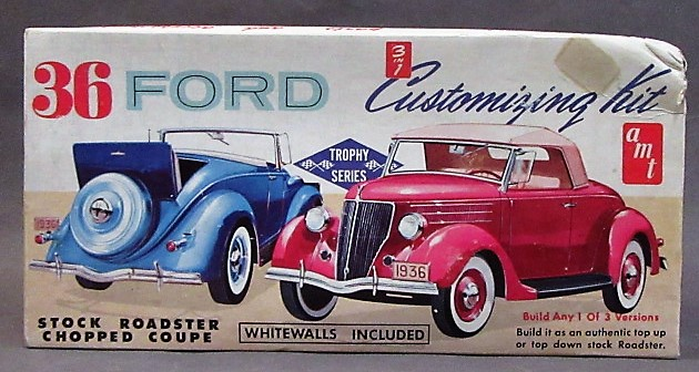 Car Body Not Included. 1:25 AMT 36 Chopped Convertible Top