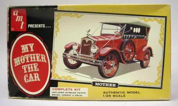 Amt Car Truck Vintage Out Of Production Plastic Model Kits For