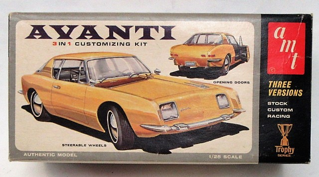 AMT CAR & TRUCK vintage out of production plastic model kits