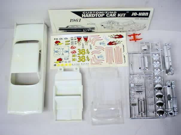 Johan Car Vintage Out Of Production Plastic Model Kits For