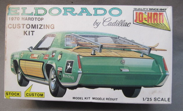 JOHAN CAR vintage out of production plastic model kits for sale
