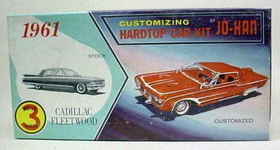 1961 CADILLAC FLEETWOOD Hardtop. 1:25. 1961.