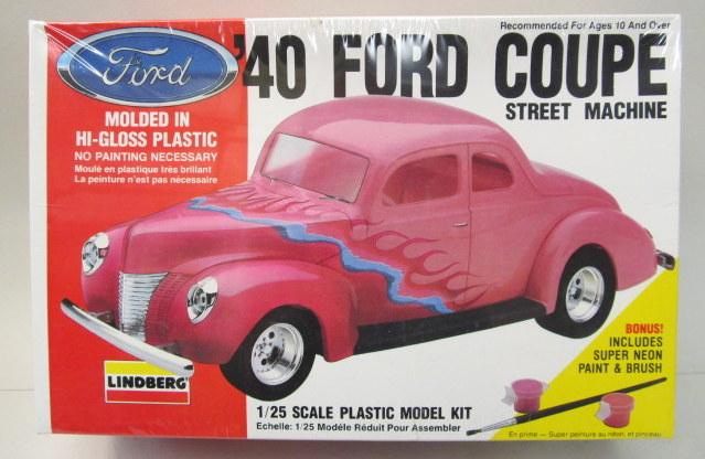LINDBERG CAR & TRUCK vintage out of production plastic model