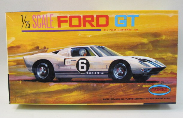 Ford Gt   The Front Wheel Assemblies Have Been Very Neatly Assembled As Have The Seats Other Parts Mint Box Is Excellent To Near Mint