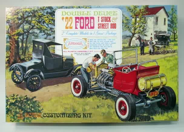Started Vintage Model Car Kit 125 Amt 1961 Ford Pickup Truck K 131
