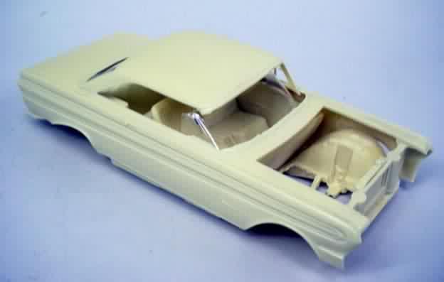 Resin Car Model Parts