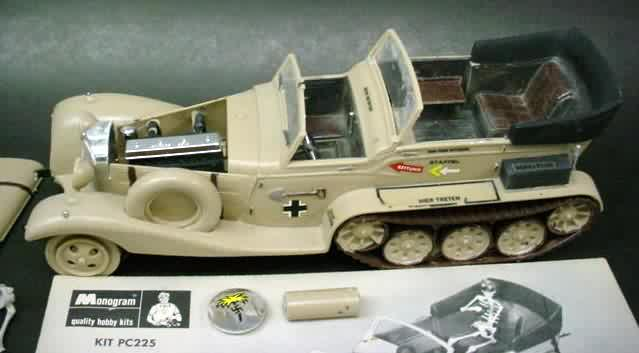 MONOGRAM CAR & TRUCK vintage out of production plastic Model kits