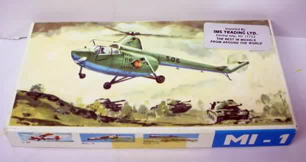 HELICOPTER vintage out of production plastic model kits for