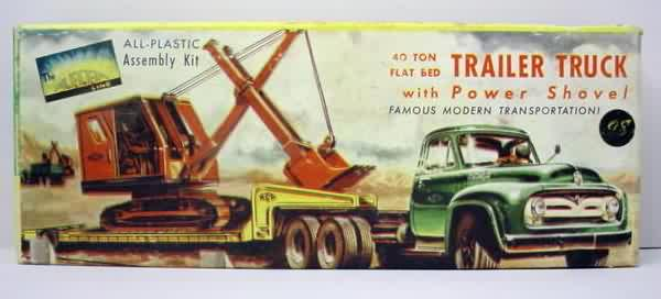 1:43 scale AUTOMOTIVE & TRUCK vintage plastic model kits for