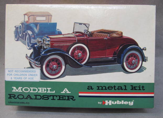 hubley metal car kits