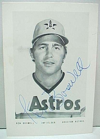 1980s houston astros uniforms. Houston Astros KEN BOSWELL