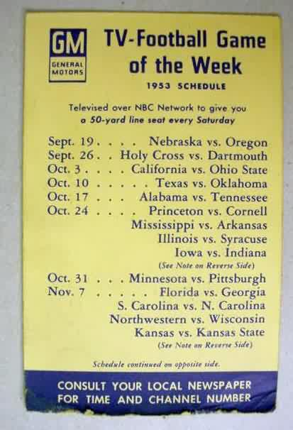 State College Motors >> COLLEGE FOOTBALL Memorabila vintage collectibles for sale from Gasoline Alley Antiques