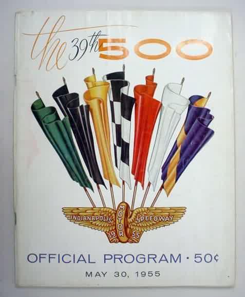 Temporada 1955 de Fórmula 1 [Actualizado] 1955indy500program2