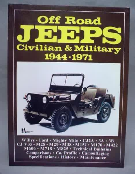 Brooklands Books Softbound  Pages Fully Illustrated Willys Ford Mighty Mite Cja A B Cj V M M M M M M M M