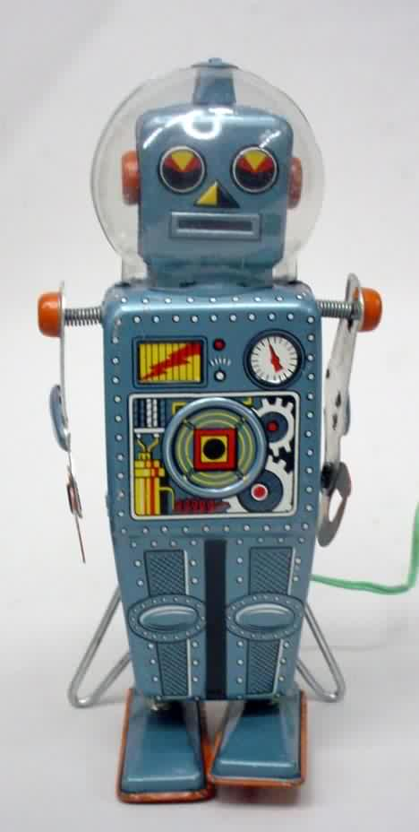 New 10 printable antique toy robots and space toys for Antiques and collectibles for sale