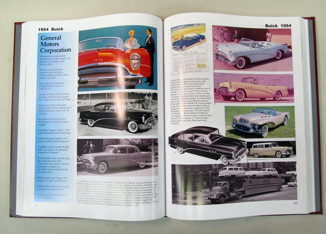 Automotive books and magazines for sale from gasoline alley antiques year by year and brand by brand large 416 pages full color glossy thick padded leatherette cover with sculpted logo shield no flaws near mint to mint fandeluxe Gallery