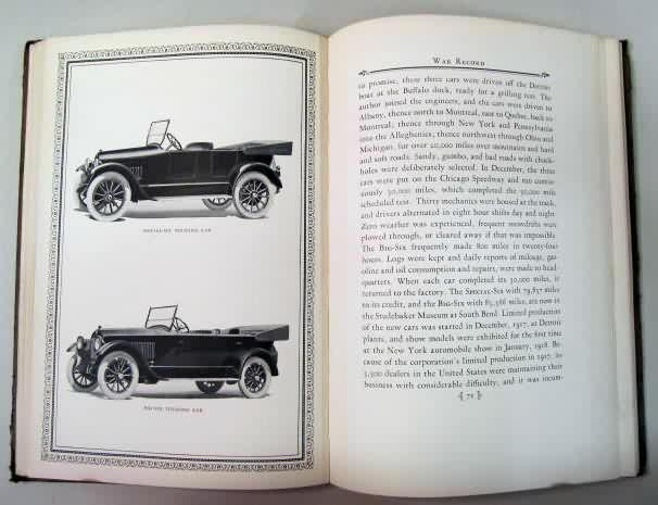 Automotive books and magazines for sale from gasoline alley antiques hardbound history of the studebaker corporation 1852 1923 by albert russel erskine 1924 studebaker corporation erskine was the then president fandeluxe Gallery