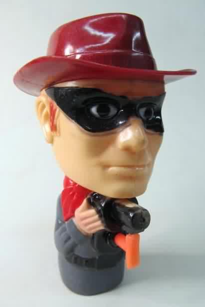 Lone Rangerfigural Water Pistol Dark Red Hat And Gray