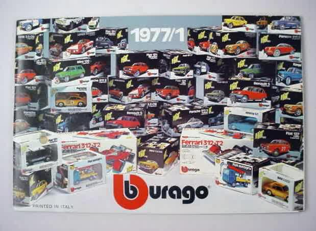Vintage Collectible Burago Diecast For Sale From Gasoline