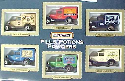 Matchbox Lesney Vintage Antique Toy Diecast Cars And