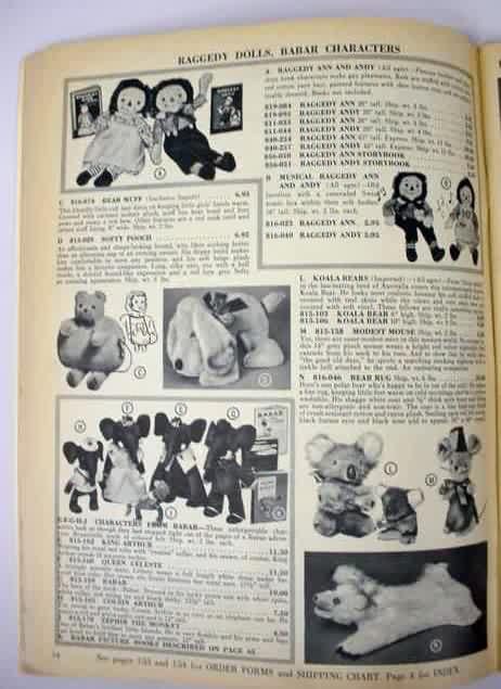 Toy Manufacturer Catalogs Of Vintage Antiques For Sale