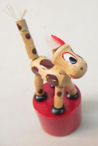 Push Puppet Vintage Antique Toy Collectibles For Sale From