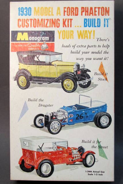 Monogram Car Amp Truck Vintage Out Of Production Plastic