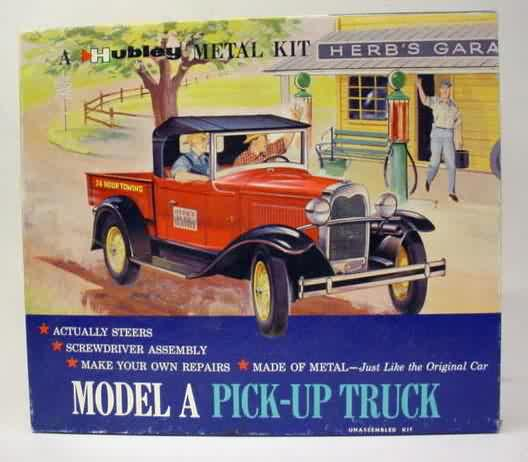 Diecast Metal Model Kits Vintage Out Of Production For