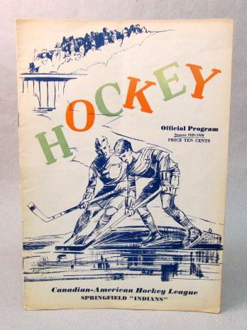 Vintage Vs Antique >> vintage Ice Hockey Programs memorabilia for sale from Gasoline Alley Antiques