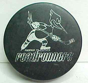 minor league hockey pucks for sale from gasoline alley