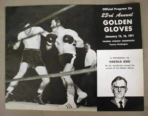 Tacoma Back Pages >> vintage BOXING memorabilia and collectibles for sale from Gasoline Alley Antiques