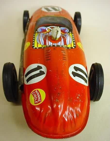 Antique Collectible Toy Race Cars For Sale From Gasoline
